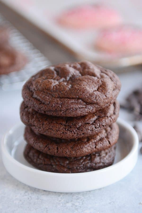 one bowl fudgy brownie cookies mels kitchen cafe chow hub - Mels Kitchen Cafe